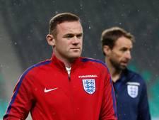 Rooney opnieuw niet bij Engelse selectie