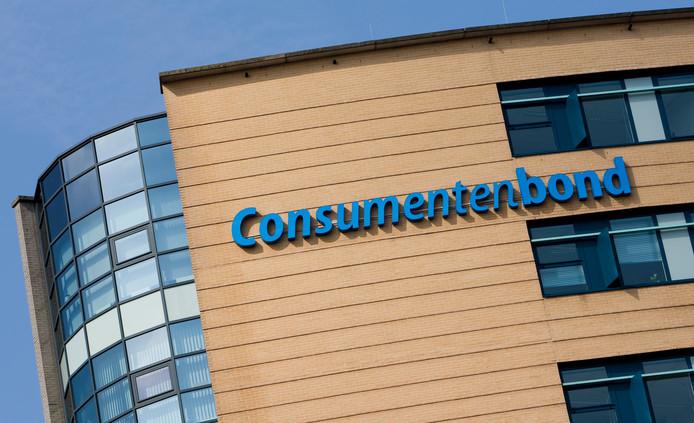 Het hoofdkwartier van de Consumentenbond bij Den Haag Hollands Spoor