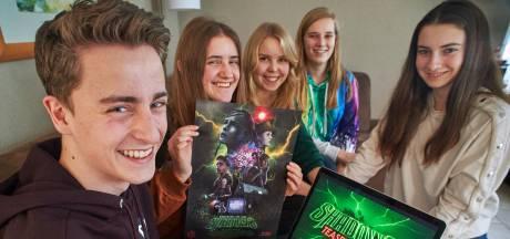 'Raar plan van rare pubers' leidt tot heuse Heeswijkse horrorfilm