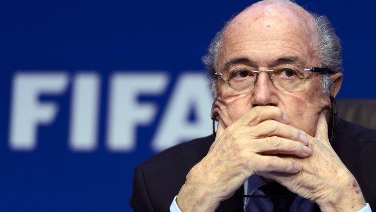 Sepp Blatter. Beeld afp