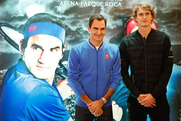 Federer zit dezer dagen in Zuid-Amerika waar hij vijf exhibitiewedstrijden speelt tegen Sascha Zverev - à rato van naar verluidt twee miljoen dollar per avond.