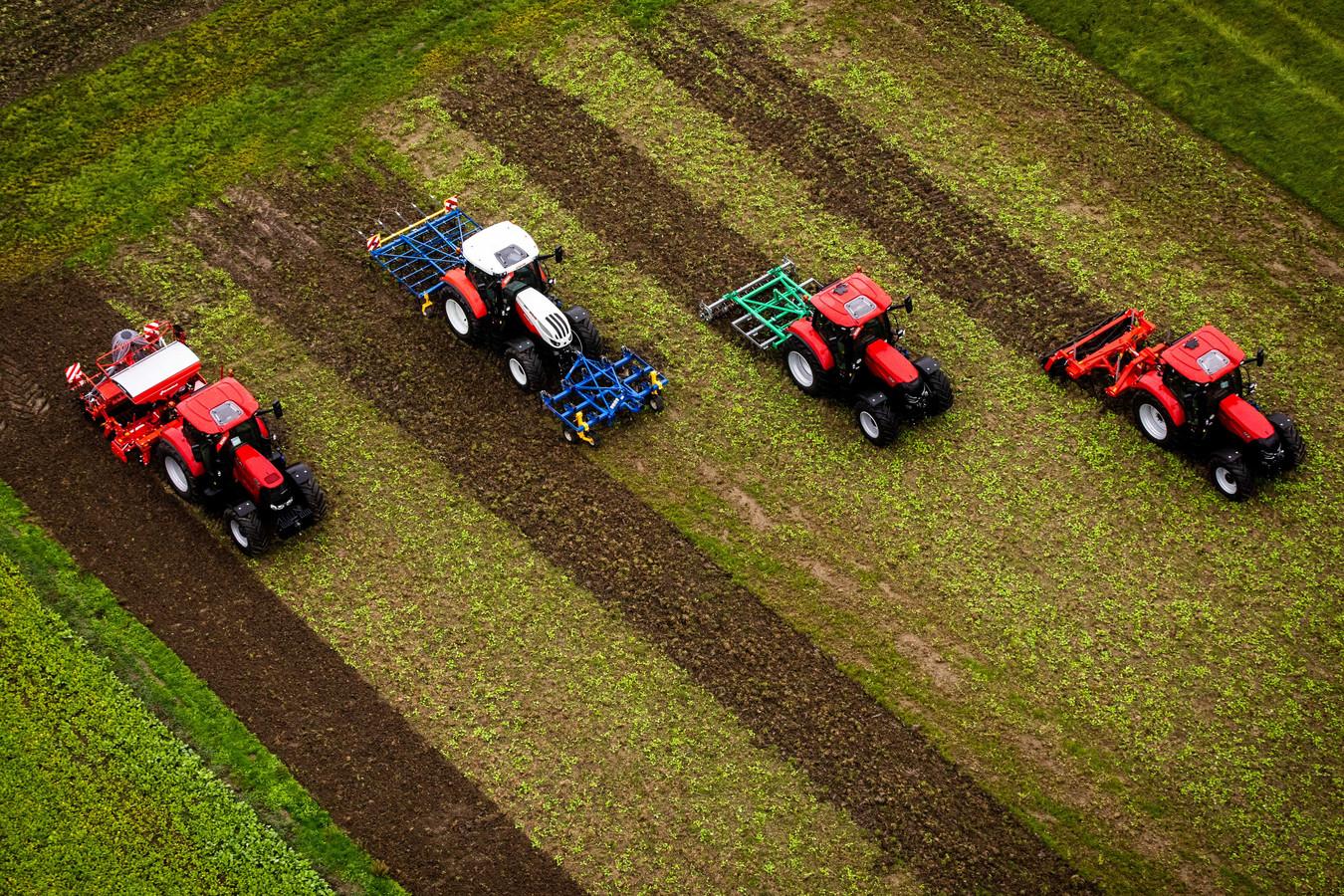 Boeren willen tijdens een valentijndate meer vertellen over hun werk.