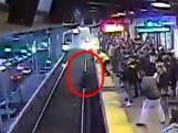 Le sauvetage miraculeux d'un homme tombé sur les rails du train