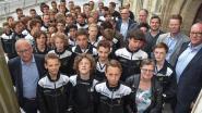 Drie kampioenenploegen KSV-jeugd gehuldigd