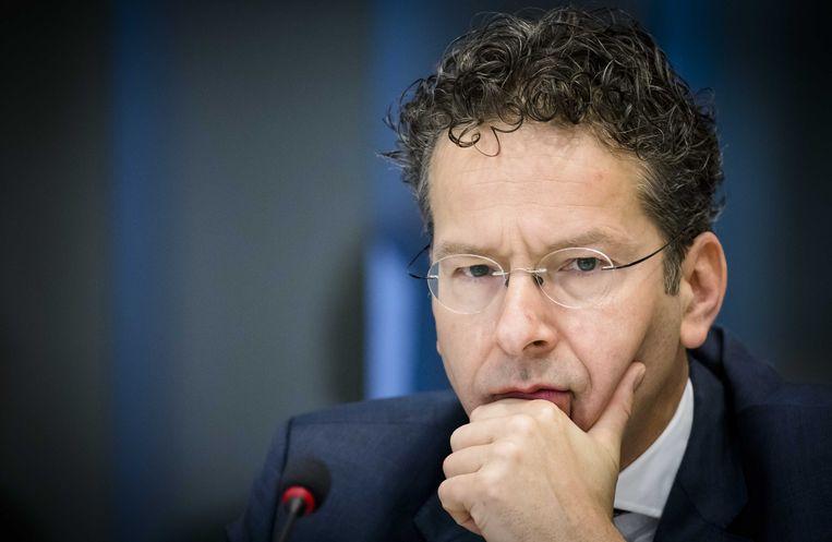 Minister van financiën, Jeroen Dijsselbloem.  Beeld ANP