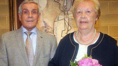 Henri en Leontine 60 jaar getrouwd