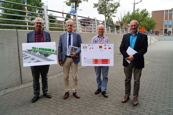 De West-Vlaamse Intercommunale en de stad Tielt lanceren samen een nieuw bouwproject langs de Kasteelstraat