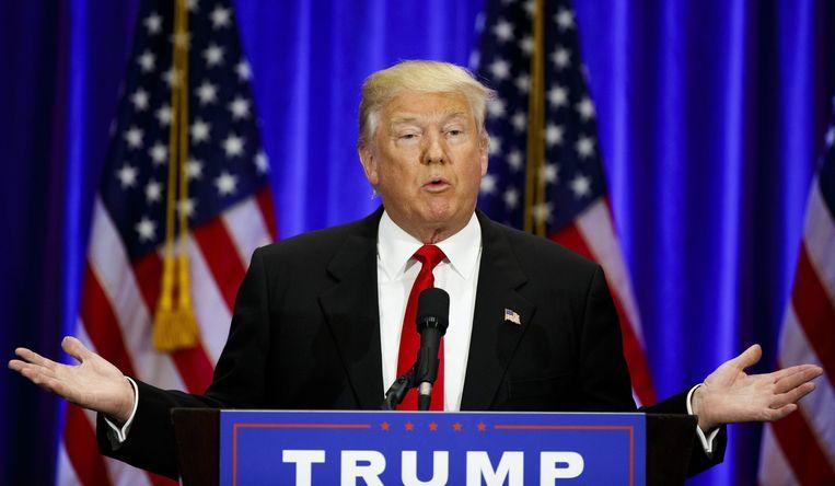 Donald Trump Beeld anp