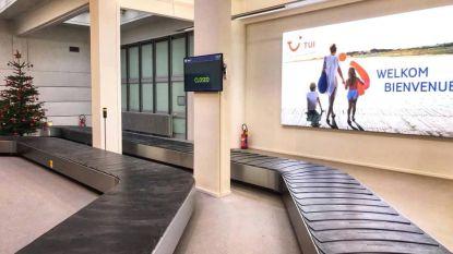 Extra bagageband op luchthaven van Oostende