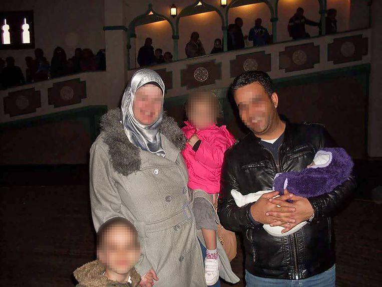 De Goudse Mandy vertrok met haar man Yasser en haar kinderen naar de Islamitische Staat. Beeld Facebook