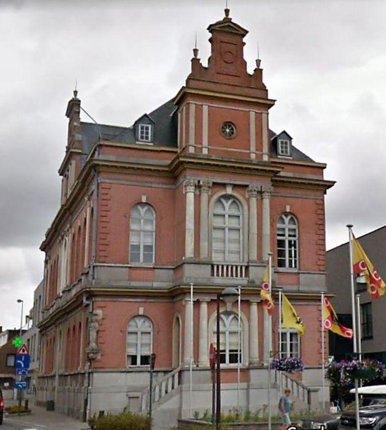 Het gemeentehuis van Hooglede