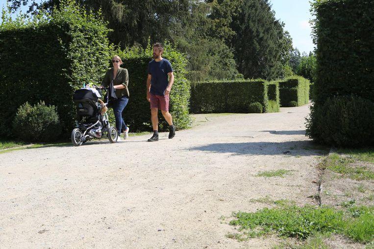 Er werd gekozen om de Tuinen van Hoegaarden aan te pakken , maar voor veel mensen ogen ook die 'vuil'.