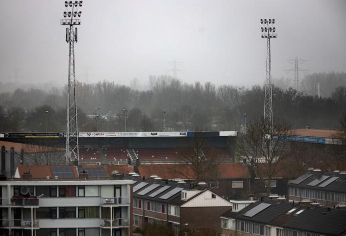 Stadion van Helmond Sport.