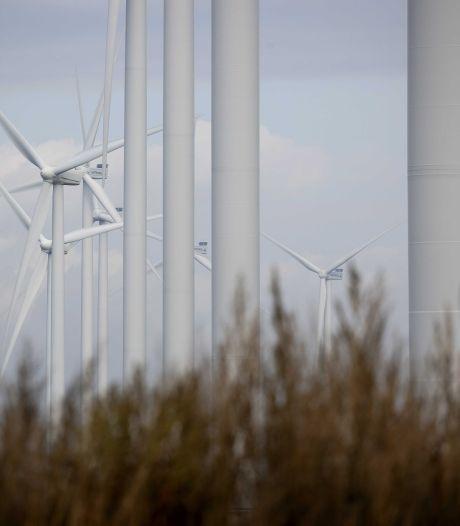 Twente in paar jaar tijd van niets naar 62 windmolens