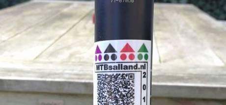 Mountainbikers vragen steun voor onderhoud routes bij Deventer