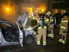 Politie neemt uitgebrande auto Westervoort mee voor sporenonderzoek