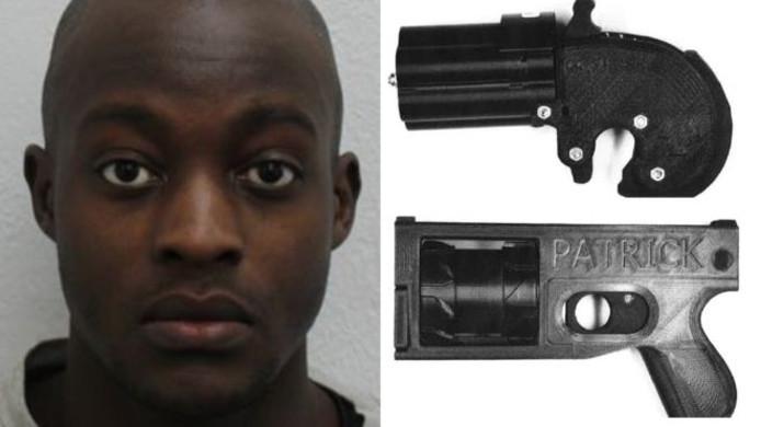 De Brit fabriceerde een wapen met een 3D-printer