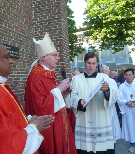 Servatiuskerk in Schijndel krijgt zegen van de bisschop