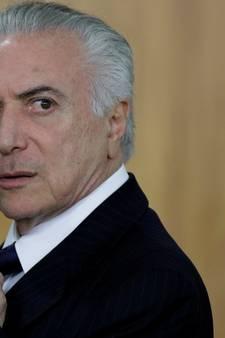 Braziliaanse president Temer officieel aangeklaagd wegens corruptie