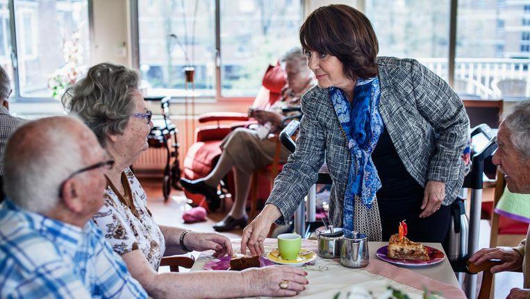 Yvonne van den Hurk speelt in Icarus voormalige politicus Rita Beeld Diederick Bulstra