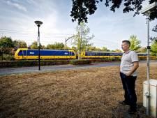 Locomotief is voornaamste oorzaak trillingen spoor in Oisterwijk, Dorst, Rijen: geen schadevergoeding voor scheuren in woningen