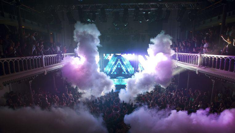 Amsterdam Dance Event 2012 in Paradiso. Beeld anp