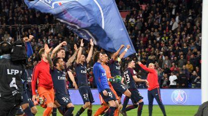 """Meunier viert titel van PSG met Belgische """"Orval of een Leffe"""": """"Steun uit België is heel belangrijk voor mij"""""""