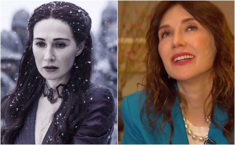 Carice Van Houten speelde Melisandre in 'Game Of Thrones'.