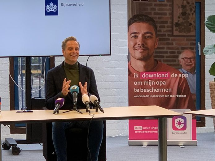 Hugo de Jonge in Nijmegen.