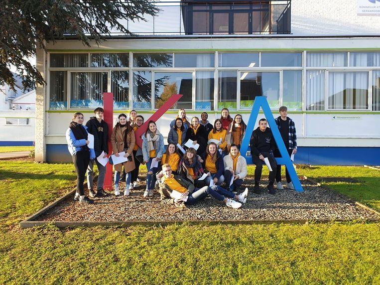 Leerlingen GO! Atheneum Geraardsbergen ontmoeten Waalse leeftijdsgenoten tijdens uitwisselingsproject met school uit Florenville.