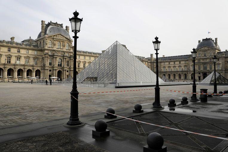 Het Louvre. Beeld AP