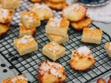 Super makkelijke traktatie voor het weekend: boterkoek