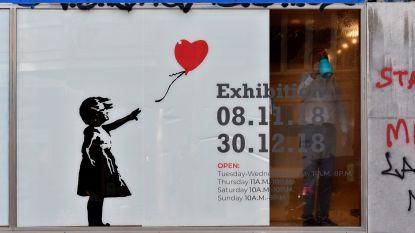 Expo met 61 werken van graffitikunstenaar Banksy tot 30 december in Brussel