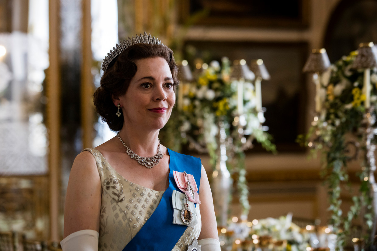 'The Crown' is een populaire Netflix-serie.