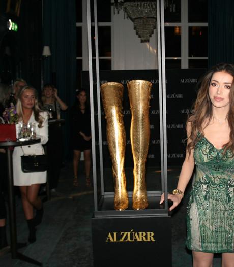 Gouden laarsjes uit Eindhoven voor wereldberoemde zangeres