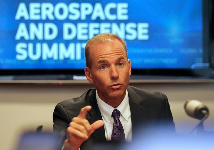 Dennis Muilenburg, de CEO van Boeing
