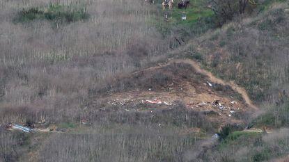 Lichamen van slachtoffers helikoptercrash geborgen