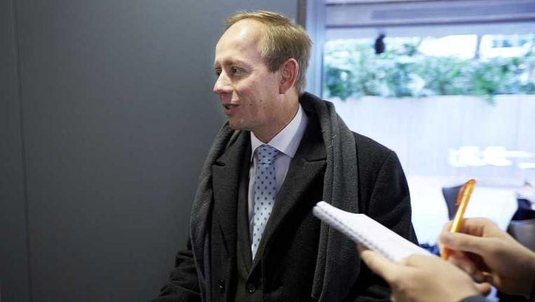 Fractievoorzitter Kees van der Staaij van de SGP Beeld anp