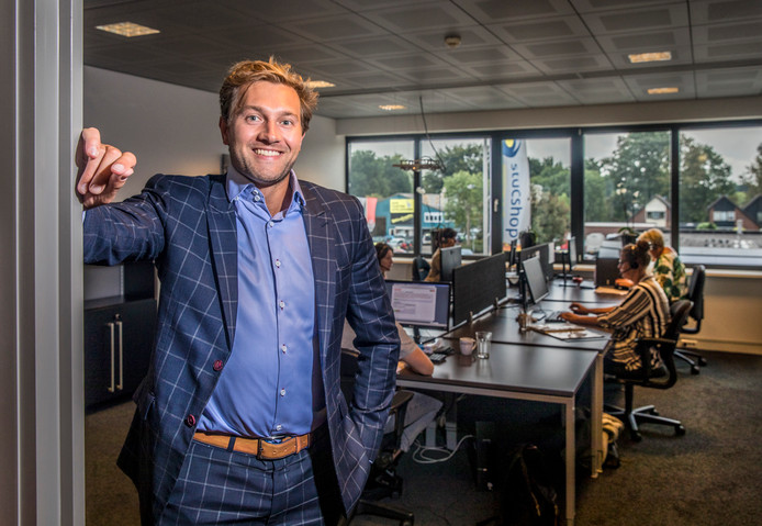 Nikos van der Laan heeft als eigenaar van Convins het faillissement aangevraagd van NBC, het voormalige bedrijf van Dirk Scheringa.