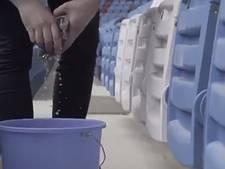 Fan Trabzonspor moet 10.000 stoeltjes schoonmaken