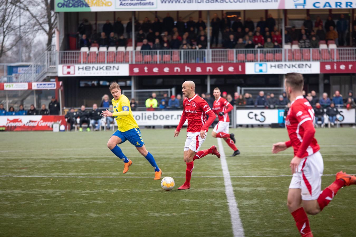 DOVO (hier op archieffoto) opent 2019 met een gelijkspel op sportpark Panhuis tegen hekkensluiter De Dijk.