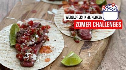 Op wereldreis in je keuken - Mexicaanse taco carne asada