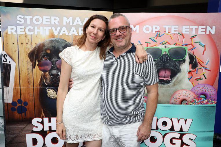 Ivan Pecnik en partner Lucy