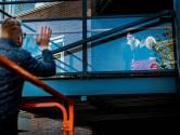 Dierbare momenten voor bewoners Crabbehoven: 'Dag ma! Net alsof ik op bezoek ben hè'