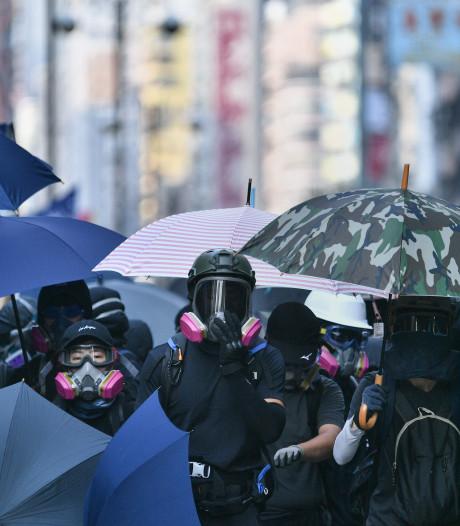 Tienduizenden demonstreren weer in Hongkong, ondanks verbod politie