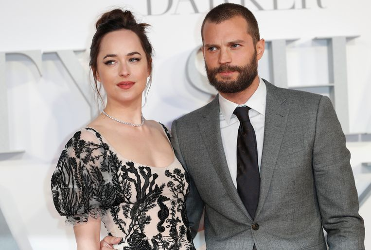Dakota Johnson en Jamie Dornan