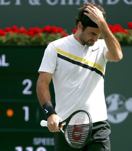 Eerste nederlaag Federer in 2018