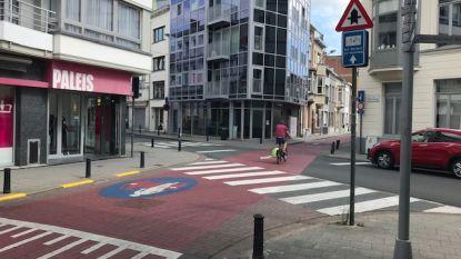 Voorrang voor fietsers op kruispunt Tweebruggenstraat-Lange Violettestraat wérkt, maar het blijft uitkijken