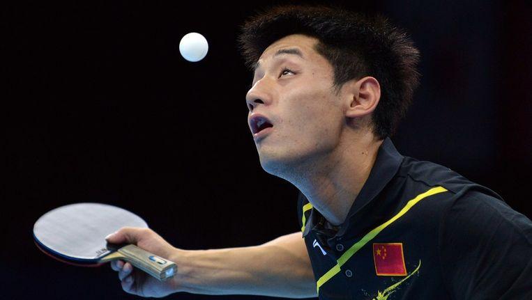 Zhang Jike. Beeld afp
