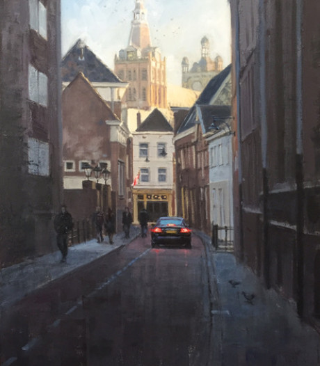 Megense kunstenaar Richard van Mensvoort exposeert werk in Den Bosch